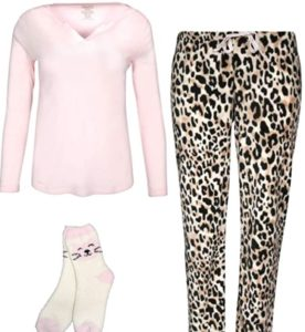 Leopard Cozy Pajama Set