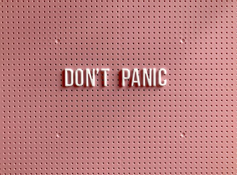 dont panic anxiety