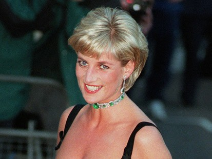 princess diana in emerald necklace