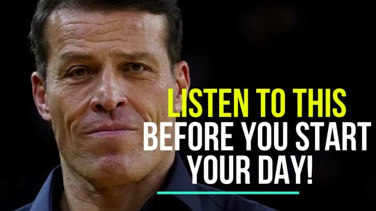video focus on yourself tony robbins