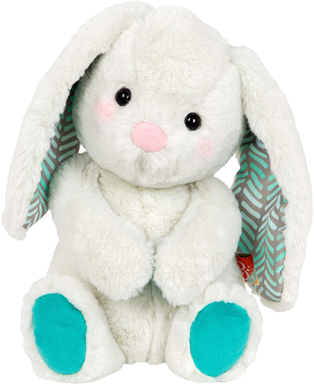 Peppy-Mint Bunny – Soft & Cuddly Plush Bunny – Huggable Stuffed Animal Rabbit Toy – Washable