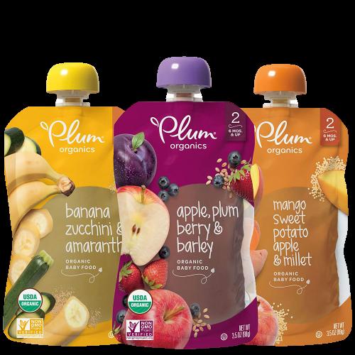 Organic Baby Food, Fruit, Veggie and Grain Variety Pack