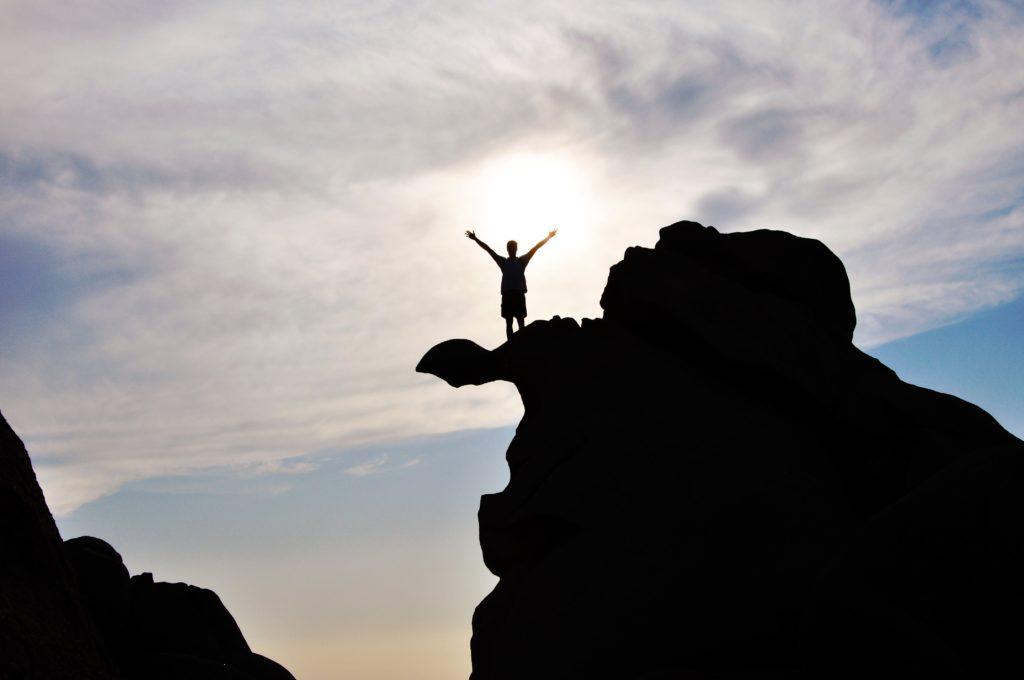 successful people mountaintop