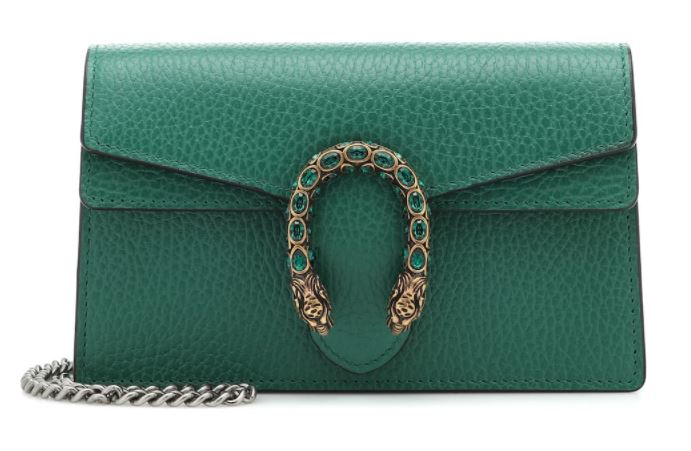 Gucci green bag dionysus