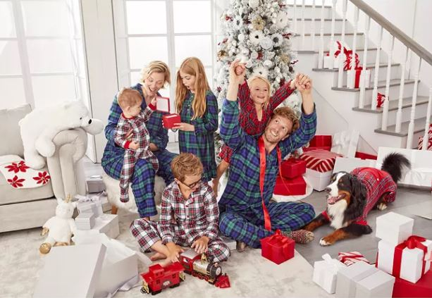 Matching Pajamas for Family