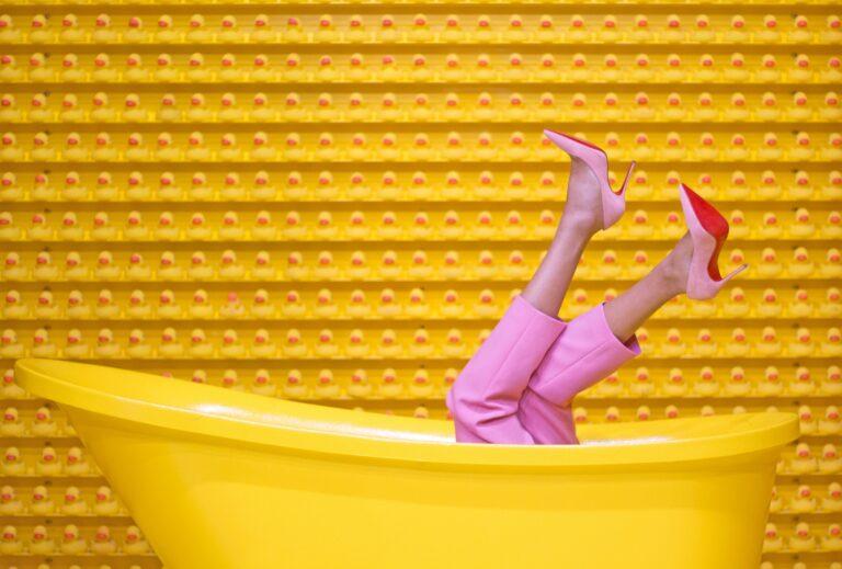 heels yellow shoes kitten heels