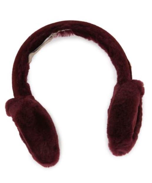 ugg genuine dyed shearling u ear muffs