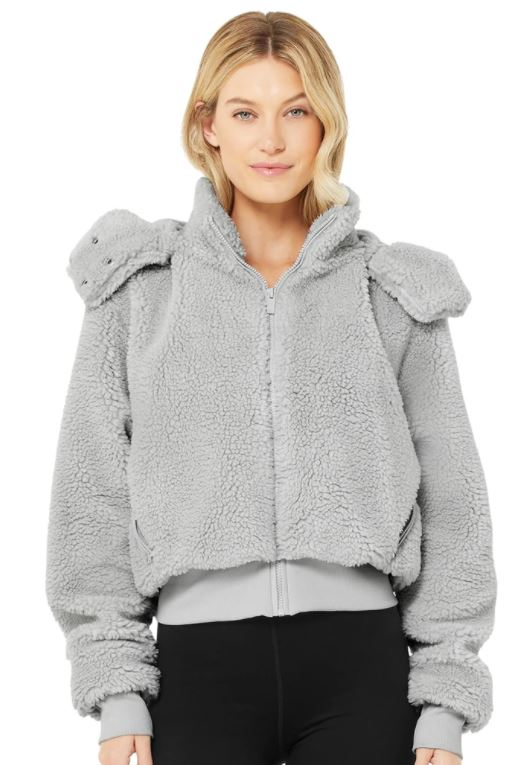 alo yoga sherpa jacket