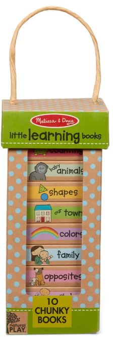 melissa and doug little learning book tower